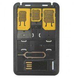 Techly Zestaw adapterów do kart SIM 021680