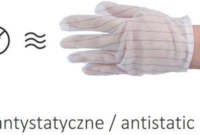 TelForceOne Rękawiczki antystatyczne rozmiar L