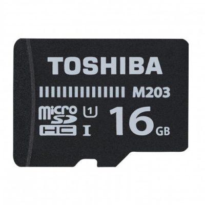 Toshiba microSD M203 16GB U1 (THN-M203K0160EA)