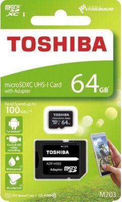 Toshiba microSD M203 64GB (THN-M203K0640EA)