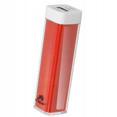Tracer Powerbank 2600mAh Czerwony microUSB/miniUSB
