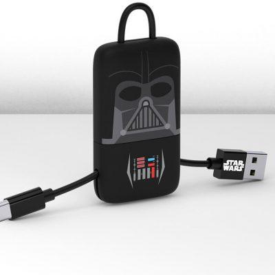 TRIBE Gwiezdne Wojny Kabel micro USB Keyline 22 cm Darth Vader