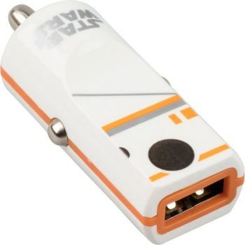 Tribe Gwiezdne Wojny Ładowarka samochodowa Buddy 1 USB BB-8 CCR13004