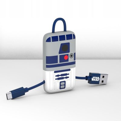 TRIBE Kabel micro Usb Keyline 22cm Star Wars R2 D2