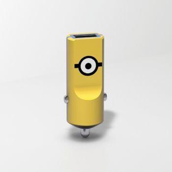 Tribe Minionki Ładowarka samochodowa Buddy 1 USB Carl CCR12100