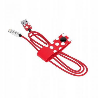TRIBE Minnie Mouse Kabel Lightning 1,2m