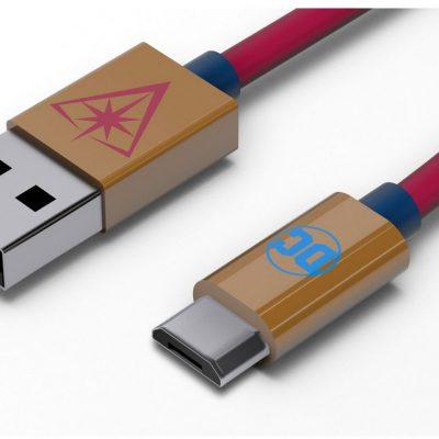TRIBE TRIBE DC Movie Kabel micro USB 1,2 m Wonder Woman
