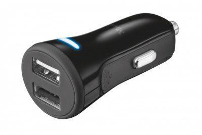 Trust Ładowarka Car Charger with 2 USB ports - 20572
