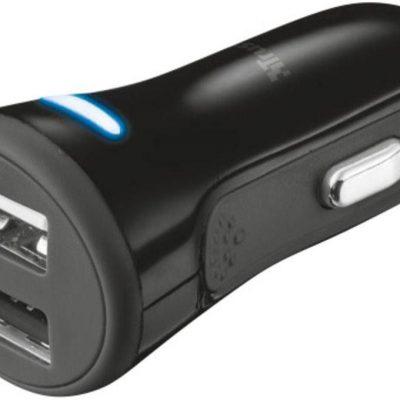 Trust Ładowarka samochodowa USB 20572 4000 mA 2 wyjścia
