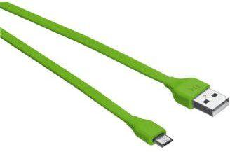 Trust UrbanRevolt Flat Micro-USB Cable 1m lime green (20138)