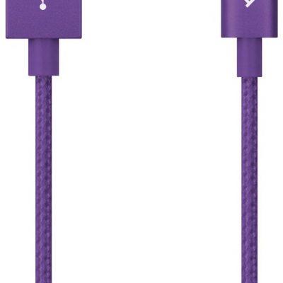 TTec kabel aluminiowy USB-C 2.0 fioletowy