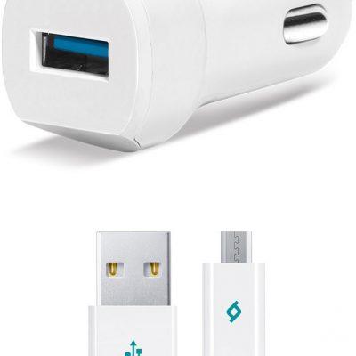 TTec Ładowarka Sam SpeedCharger QC 3.0 +kabel micro-USB