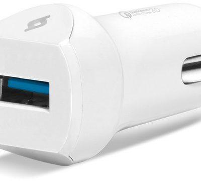 TTec Ładowarka Samochodowa SpeedCharger QC 3.0 biała
