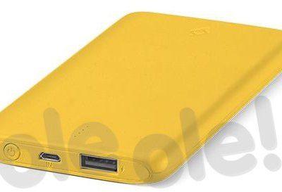 TTEC PowerSlim 2BB132SR 5000mAh Żółty