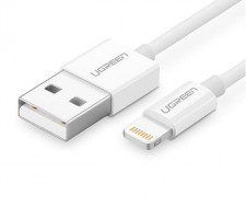 UGREEN Kabel 20728 (USB 2.0 M - Lightning M; 1m; kolor biały) 2_223260