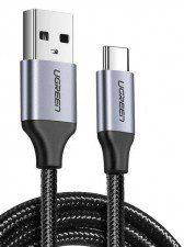 UGREEN Kabel 60125 (USB 3.0 typu C M - USB 2.0 M; 0,50m; kolor czarny) 2_223295