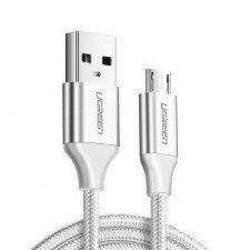 UGREEN Kabel 60149 (Micro USB M - USB 3.0 M; 0,25m; kolor biały) 2_223319