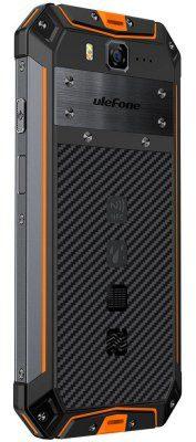 Ulefone Armor 3W 64GB Dual Sim Czarno-pomarańczowy