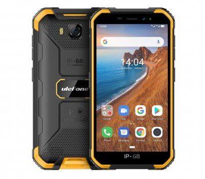 Ulefone Armor X6 16GB Dual Sim Czarno-pomarańczowy