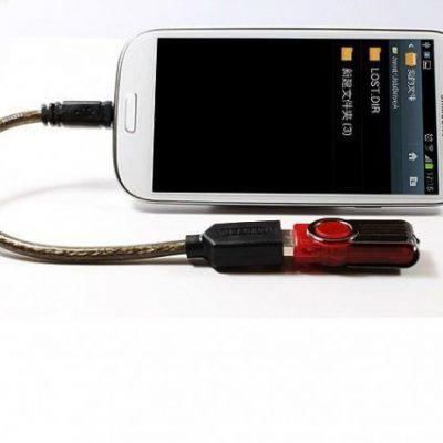 Unitek Kabel OTG USB 2.0 AF do microUSB BM; Y-C438GBK Y-C438GBK