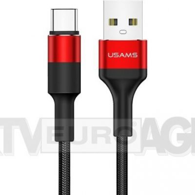 USAMS Kabel pleciony U5 2A USB-C US-SJ221 SJ221TC02