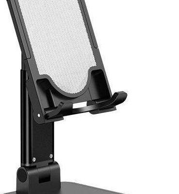 USAMS Uchwyt Uchwyt biurkowy na telefon/tablet czarny/black ZJ059ZJ01 US-ZJ059 101650