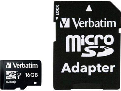 Verbatim MicroSDHC Class 10 16GB (44082)