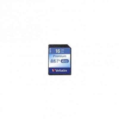 Verbatim SDHC Class 10 16GB (43962)