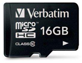 Verbatim SDHC Class 10 16GB (44010)