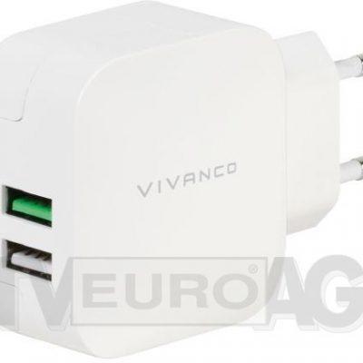 Vivanco 37563 Fast Charging 2xUSB 37563