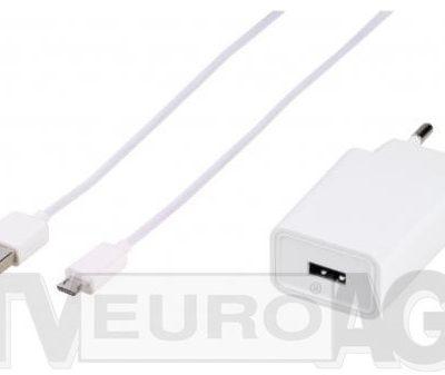 Vivanco Adaptive Charge 15W + kabel microUSB 62210