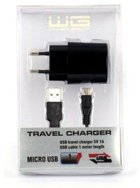WG Ładowarka WINNER GROUP Travel charger 1A microUSB Rozłóż zakup na 10 rat Travel charger 1A microUSB