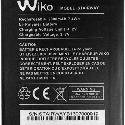 "Wiko """" Stairway STAIRWAY 2000mAh 7.4Wh Li-Ion 3.7V oryginalny) STAIRWAY"