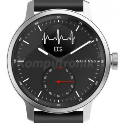 Withings Scanwatch 42mm Czarny