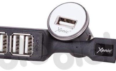 XENIC IOZI-0042 4x USB 4,2A czarny IOZI-0042