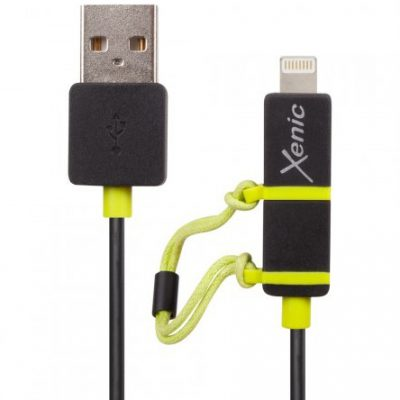 Xenic XENIC KABEL MICRO USB/LIGHTNING 1,2m (UMCL12)