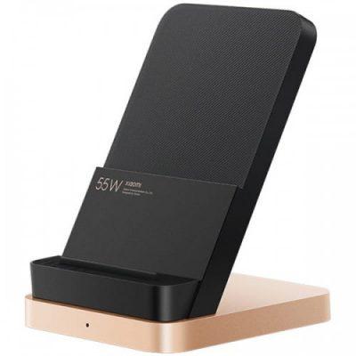 Xiaomi Ładowarka bezprzewodowa Xiaomi Vertical Air-Cool Qi 55W, czarno-złota 6934177723018
