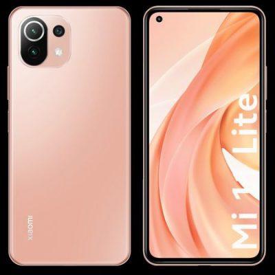 Xiaomi Mi 11 Lite 6GB/128GB Dual Sim Różowy
