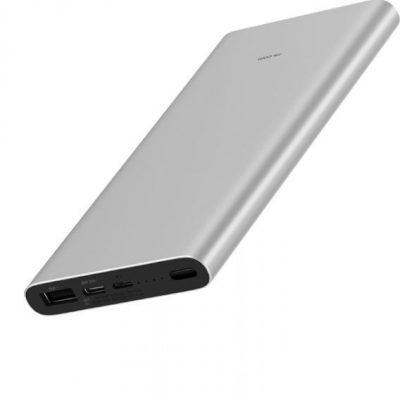 Xiaomi Mi 3 10000mAh Fast Charge Srebrny