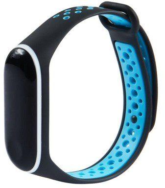Xiaomi Opaska Xiaomi Mi Band 4 / 3 Dots czarno-niebieski wristband_20191022173448