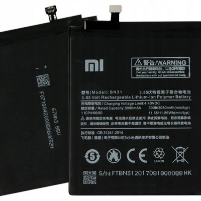 Xiaomi Oryginalna Bateria Redmi Note 5 5A 5X BN31