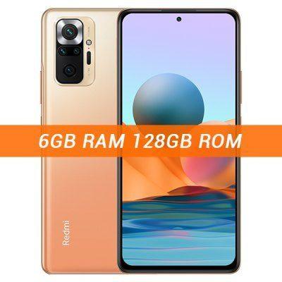 Xiaomi Redmi Note 10 Pro 6GB/128GB Dual Sim Pomarańczowy