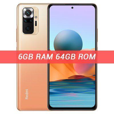 Xiaomi Redmi Note 10 Pro 6GB/64GB Dual Sim Pomarańczowy