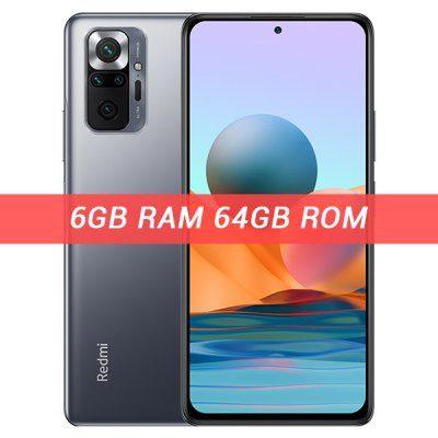 Xiaomi Redmi Note 10 Pro 6GB/64GB Dual Sim Szary