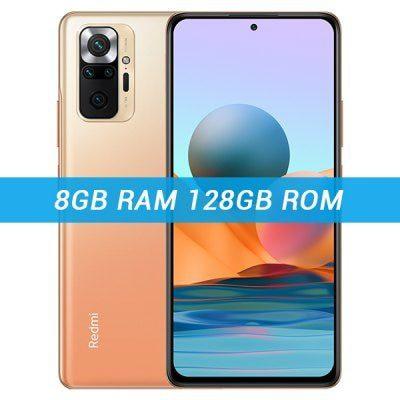 Xiaomi Redmi Note 10 Pro 8GB/128GB Dual Sim Pomarańczowy