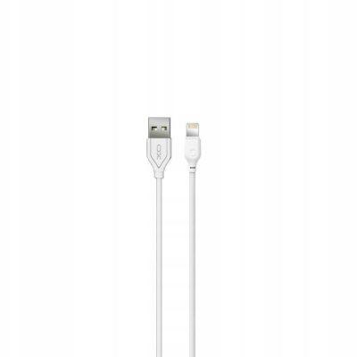 Xo Kabel NB103 8-pin biały 2,1A 1m
