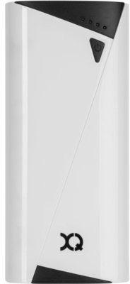 XQISIT 2.1A Single USB 5200 mAh Biały