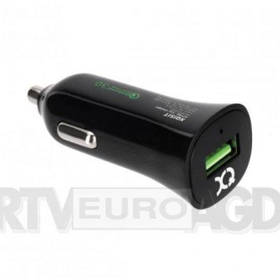 Xqisit Qualcomm 3.0 Car Charger USB czarny 27730