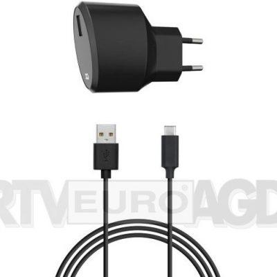 Xqisit Travel Charger 2,4A USB-C czarny 32018