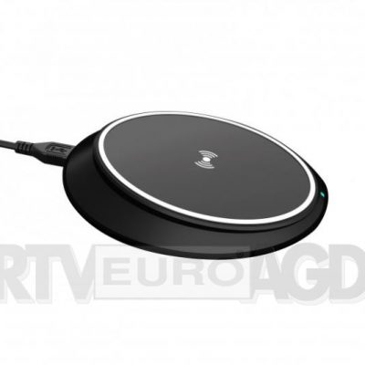 Xqisit Wireless Fast Charger iPhone czarny | (31442)